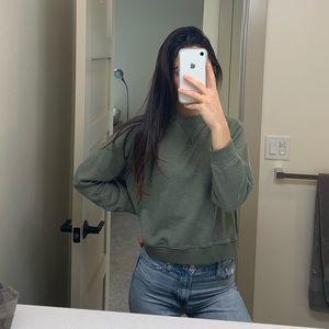 H & M sweatshirt! 💚